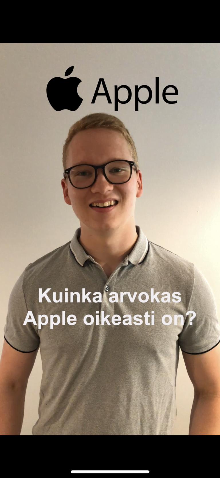 Kuinka arvokas Apple oikeasti on?